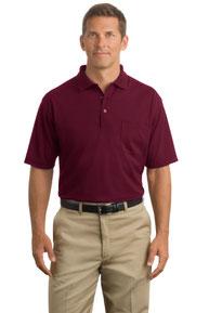 CornerStone ®  - Industrial Pocket Pique Polo. CS402P