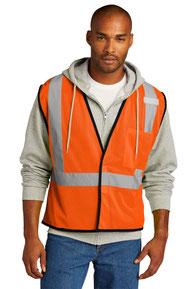 CornerStone  ®  ANSI 107 Class 2 Economy Mesh One-Pocket Vest. CSV100