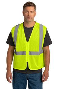 CornerStone  ®  ANSI 107 Class 2 Economy Mesh Zippered Vest. CSV101