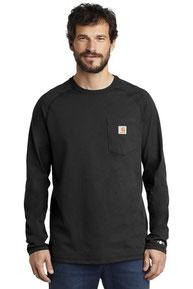 Carhartt Force  ®  Cotton Delmont Long Sleeve T-Shirt. CT100393