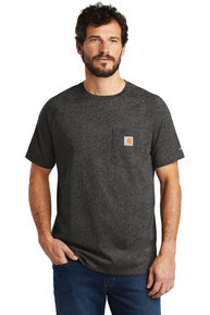 Carhartt Force  ®  Cotton Delmont Short Sleeve T-Shirt. CT100410