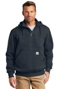 Carhartt  ®  Rain Defender  ®  Paxton Heavyweight Hooded Zip Mock Sweatshirt. CT100617