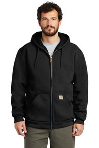 Carhartt  ®  Rain Defender  ®  Rutland Thermal-Lined Hooded Zip-Front Sweatshirt. CT100632