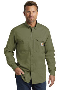 Carhartt Force  ®  Ridgefield Solid Long Sleeve Shirt. CT102418