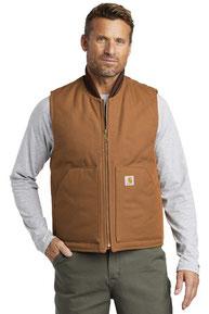 Carhartt  ®  Duck Vest. CTV01