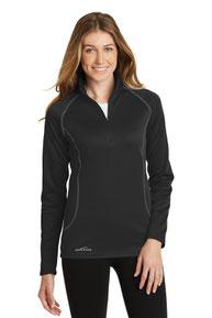 Eddie Bauer ®  Ladies 1/2-Zip Base Layer Fleece. EB237