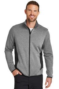 Eddie Bauer ®  Full-Zip Heather Stretch Fleece Jacket. EB238