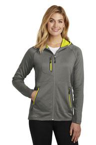 Eddie Bauer  ®  Ladies Sport Hooded Full-Zip Fleece Jacket. EB245