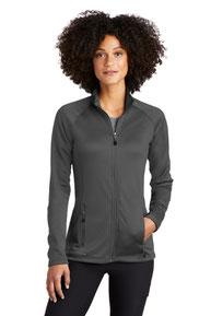 Eddie Bauer  ®  Ladies Smooth Fleece Base Layer Full-Zip. EB247