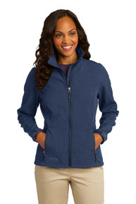 Eddie Bauer ®  Ladies Shaded Crosshatch Soft Shell Jacket. EB533