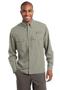 Eddie Bauer ®  - Long Sleeve Performance Fishing Shirt. EB600