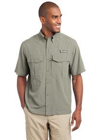 Eddie Bauer ®  - Short Sleeve Performance Fishing Shirt. EB602