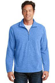 Port Authority ®  Heather Microfleece 1/2-Zip Pullover. F234