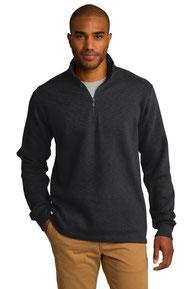 Port Authority ®  Slub Fleece 1/4-Zip Pullover. F295