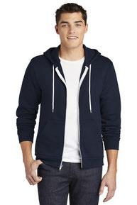 American Apparel  ®  USA Collection Flex Fleece Zip Hoodie. F497