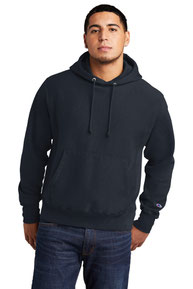 Champion  ®  Reverse Weave  ®  Garment-Dyed Hooded Sweatshirt. GDS101