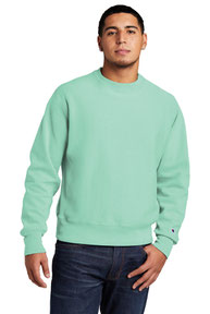 Champion  ®  Reverse Weave  ®  Garment-Dyed Crewneck Sweatshirt. GDS149