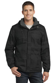 Port Authority ®  Brushstroke Print Insulated Jacket. J320