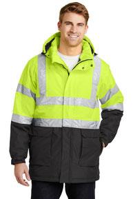 Port Authority ®  ANSI 107 Class 3 Safety Heavyweight Parka. J799S