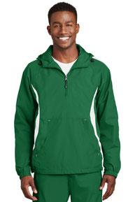 Sport-Tek ®  Colorblock Raglan Anorak. JST63
