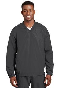 Sport-Tek ®  V-Neck Raglan Wind Shirt. JST72