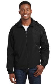 Sport-Tek ®  Hooded Raglan Jacket. JST73