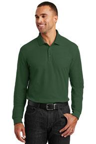 Port Authority ®  Long Sleeve Core Classic Pique Polo. K100LS