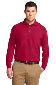 Port Authority ®  Silk Touch™ Long Sleeve Polo.  K500LS