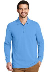 Port Authority ®  EZCotton ™  Long Sleeve Polo. K8000LS