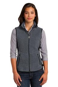Port Authority ®  Ladies R-Tek ®  Pro Fleece Full-Zip Vest. L228