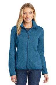 Port Authority ®  Ladies Sweater Fleece Jacket. L232