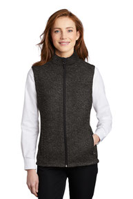 Port Authority  ®  Ladies Sweater Fleece Vest L236