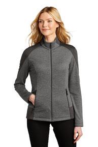 Port Authority  ®  Ladies Grid Fleece Jacket. L239