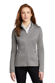 Port Authority  ®  Ladies Diamond Heather Fleece Full-Zip Jacket L249