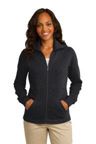 Port Authority ®  Ladies Slub Fleece Full-Zip Jacket. L293