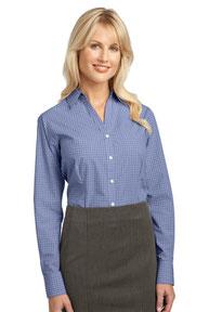 Port Authority ®  Ladies Plaid Pattern Easy Care Shirt. L639