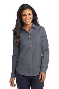 Port Authority ®  Ladies SuperPro ™  Oxford Shirt. L658
