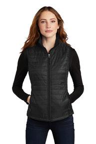 Port Authority  ®  Ladies Packable Puffy Vest L851