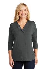 Port Authority ®  Ladies Concept 3/4-Sleeve Soft Split Neck Top. LK5433