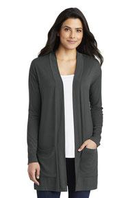 Port Authority  ®  Ladies Concept Long Pocket Cardigan . LK5434