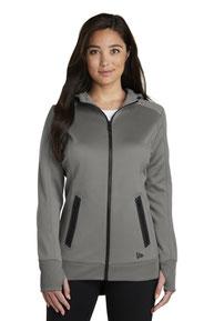 New Era  ®  Ladies Venue Fleece Full-Zip Hoodie. LNEA522