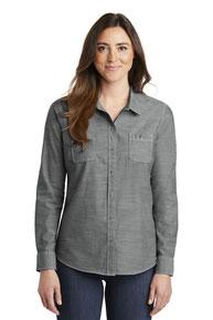 Port Authority ®  Ladies Slub Chambray Shirt. LW380