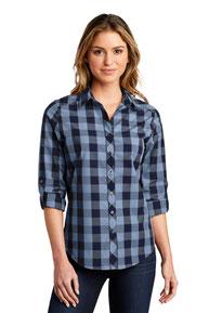 Port Authority  ®  Ladies Everyday Plaid Shirt. LW670