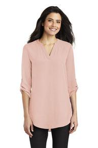 Port Authority ®  Ladies 3/4-Sleeve Tunic Blouse. LW701