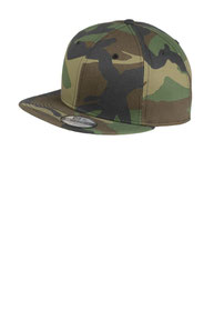 New Era ®  - Flat Bill Snapback Cap. NE400