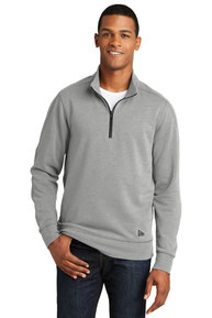 New Era  ®  Tri-Blend Fleece 1/4-Zip Pullover. NEA512