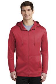 Nike Therma-FIT Full-Zip Fleece Hoodie. NKAH6259