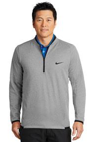 Nike Therma-FIT Textured Fleece 1/2-Zip. NKAH6267