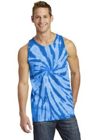 Port & Company ®  Tie-Dye Tank Top.  PC147TT