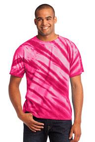 Port & Company ®  - Tiger Stripe Tie-Dye Tee. PC148